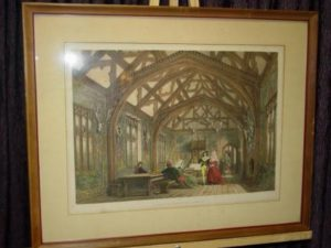 antique-frame-print-banquetting-room-aa103-1